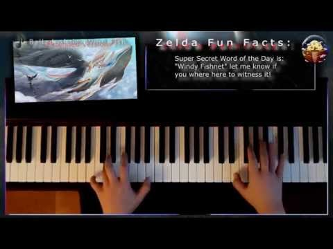 Ballad of the Wind Fish, Piano - Extendend w/Rain & Thunder