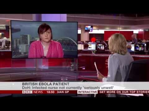 Dr Emma Thomson interviewed about the first UK ebola patient