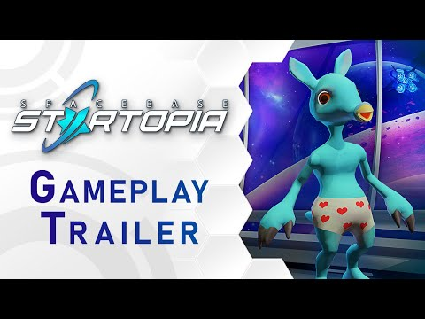 Spacebase Startopia Gameplay Trailer (DE)