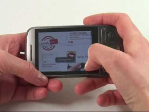 HTC Tattoo Test Internet
