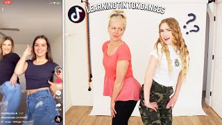 LEARNING TIK TOK DANCES WITH MY MOM?!