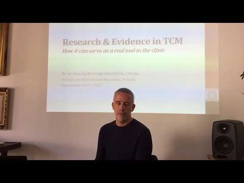 Dr. Gil Barzilay PhD Dipl CM (Israel) About Science-based Chinese Medicine