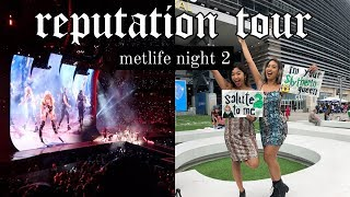 REPUTATION TOUR METLIFE NIGHT 2 (RAIN SHOW) ♡ TAYLOR SWIFT CONCERT VLOG