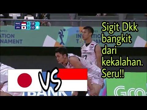 Seru!! Indonesia Vs Japan Set 5 . Team Sigit Dkk Menang - Invitation Games Tournament