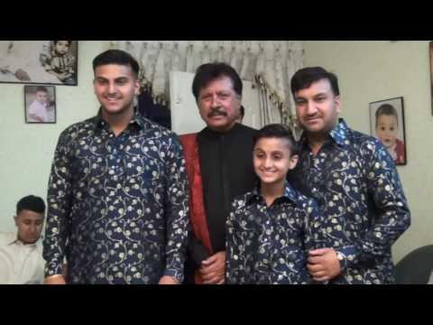 Attaullah Khan Esakhelvi 14 April 2017 Gujar Khan in Raja Saleem Khan's Wedding Part 1