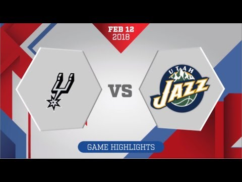 San Antonio Spurs vs Utah Jazz: February 12, 2018