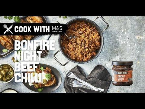 M&S   Cook with M&S... Bonfire Night Chilli Con Carne