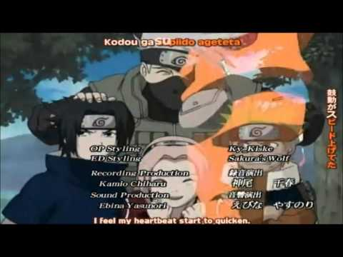 Naruto Opening 7 w Lyrics English Subbed