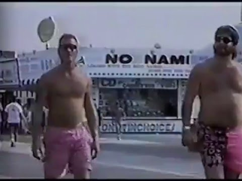 News Report on Seaside Heights Boardwalk, 1990s