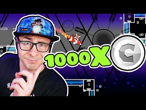 How To Get 1000 USER COINS in Geometry Dash