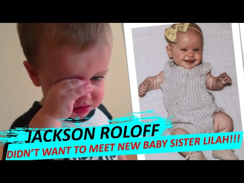 HE'S AFRAID!!! Tori And Zach Roloff's Son Jackson 'Didn't Want To Meet' New Baby Sister Lilah Ray!!!