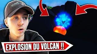 🔴 [EN DIRECT] ÉVÉNEMENT !! LE VOLCAN ENTRE EN ÉRUPTION ET VA EXPLOSER ! (LIVE FORTNITE FR)