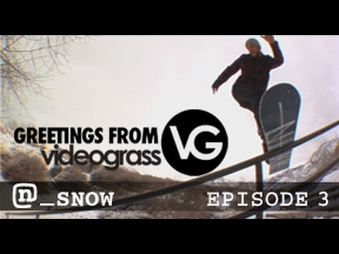 Snowboarding The Salt Lake City Rail Garden With Jon Kooley