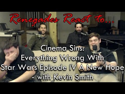 Renegades React to... Cinema Sins: Everything Wrong With Star Wars Episode IV A New Hope