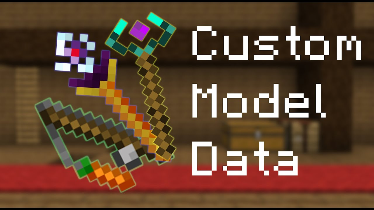 CustomModelData - A quoi ça sert ? - minecraft - YouTube