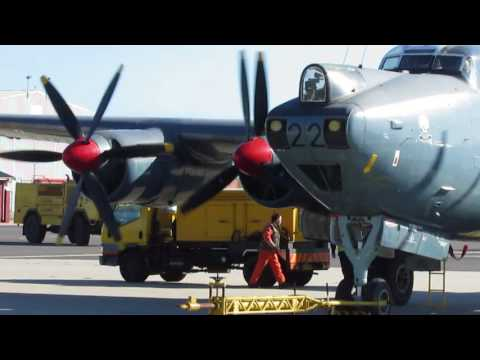 Avro Shackleton MR.3 - Ground Run AFB Ysterplaat. Cape Town(29/07/2017)