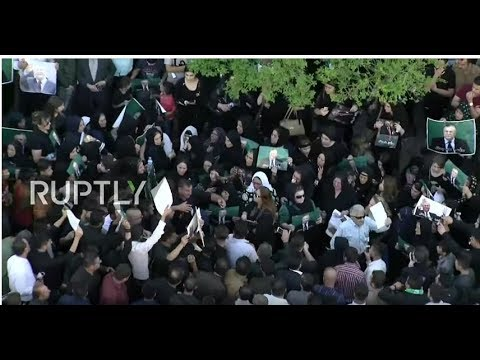 LIVE: Jalal Talabani's funeral held at the Grand Mosque of Sulaymaniyah