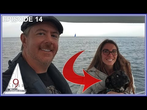 Sailing The ATLANTIC OCEAN To SANDY HOOK, NJ (Episode 14: Sailing 9 LIVES)