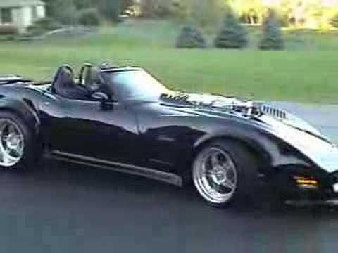 1200 Bhp Twin Supercharged 1974 Chevy Corvette Youtube