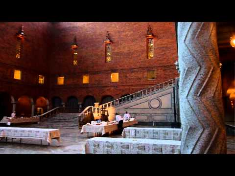 Stockholm City Hall Where The Nobel Prize Ceremony Take Place!