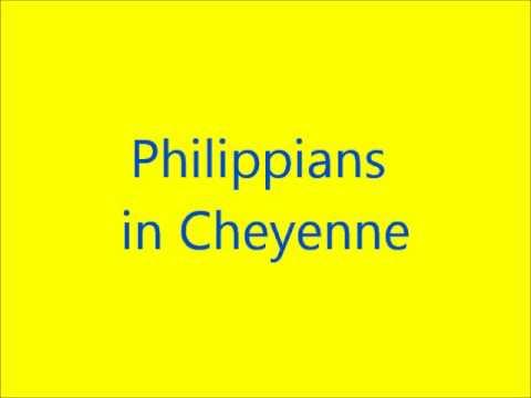 Philippians in Cheyenne