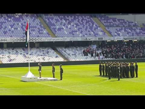 UAE FLAG DAY AT HBZ STADIUM,  AL AIN(1)