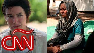 Lena Headey: refugiados de Moria son abandonados en el «infierno en la Tierra»