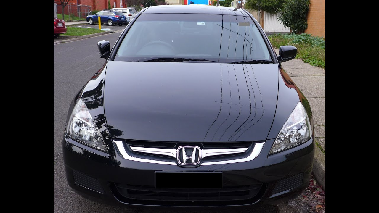 Honda accord sedan 2007 black colour 2 4 i vtec 7th for Honda accord generations