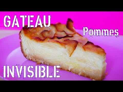 gâteau-invisible-aux-pommes-facile-et-rapide-🍏🤤🍎