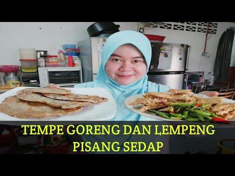 resepi-tempe-goreng-celup-tepung-yg-enak😋dan-lempeng-pisang-raja-yg-sunguh-mudah😋