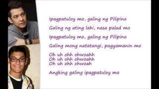 Ipagpatuloy Mo, Galing ng Pilipino Lyrics (TFC 20) by Gary Valenciano & Gab Valenciano