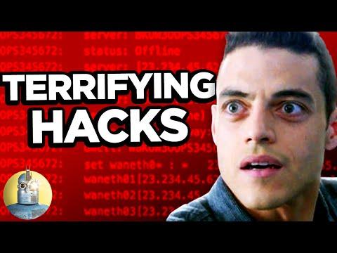 Top 10 Horrifying Mr. Robot Hacks (@Cinematica)