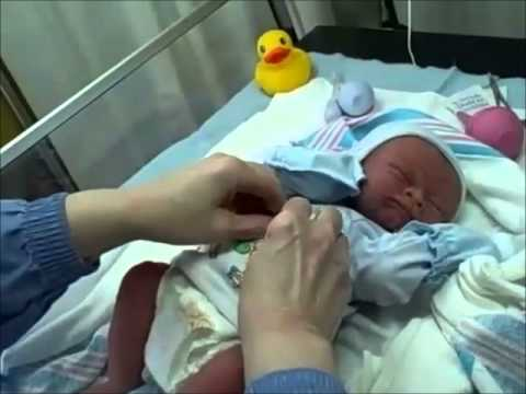 Newborn Baby Jack ~ Birds & Bees Nursery.wmv