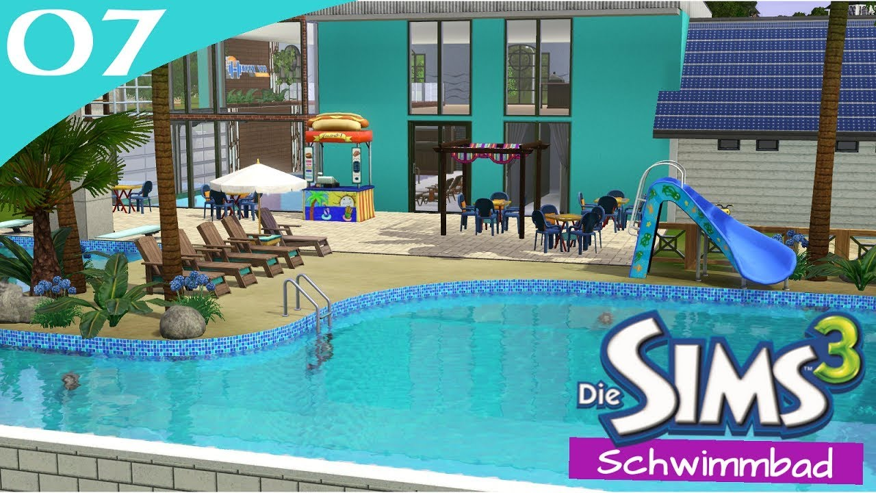 Hausbau Reihe 6 07: Schwimmbad [Letu0027s Build Sims 3 Haus]