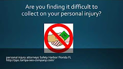 The Best Personal injury attorneys Safety Harbor Florida FL