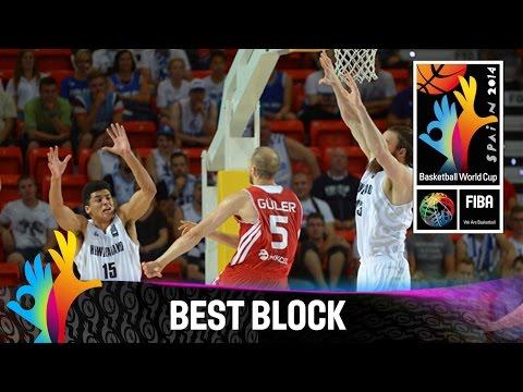 New Zealand v Turkey - Best Block - 2014 FIBA Basketball World Cup