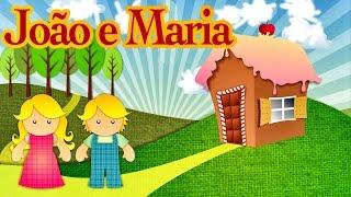 João e Maria - Histórias Clássicas para Crianças