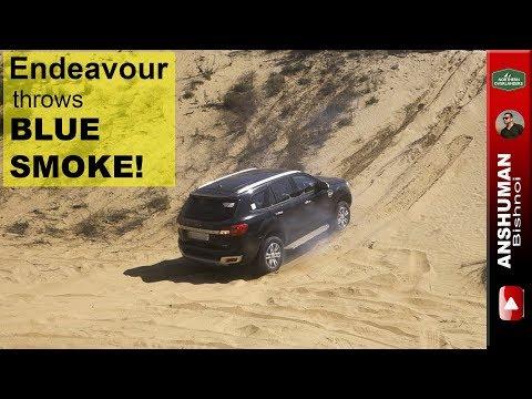 Ford Endeavour 3.2, Thar CRDe: Sand dune...