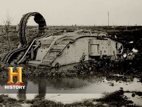 WWI The First Modern War: The British Consider Abandoning the Tank