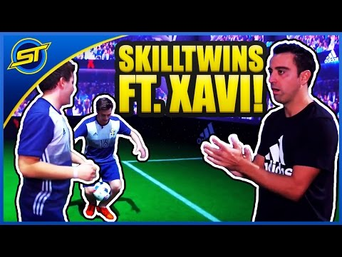 SkillTwins IMPRESS + FOOTBALL SKILL Tutorial ft. Xavi Hernandez! ★