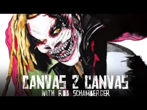 """The Fiend"" Bray Wyatt TERRORIZES the Canvas! – WWE Canvas 2 Canvas"