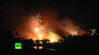 Взрыв на фабрике пиротехники в Китае: четверо пропали без вести, 25 человек пострадали