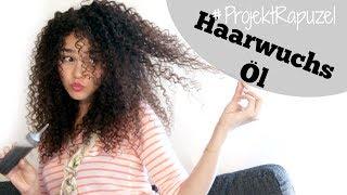 DIY Natürliches Haarwuchs Öl  | | #ProjektRapunzel 5/6🙆  | | by CurlyJey
