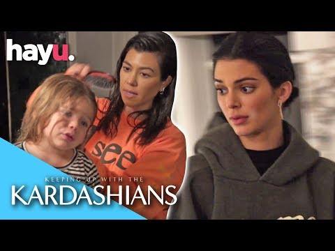 Nervous Kendall Wants Kourtney To Leave Her Home! | Season 16 | Keeping Up With The Kardashians thumbnail
