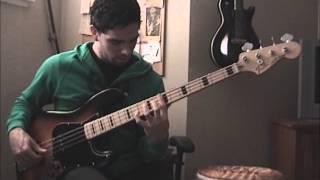 Fender Jazz bass Geddy Lee ( Demo )