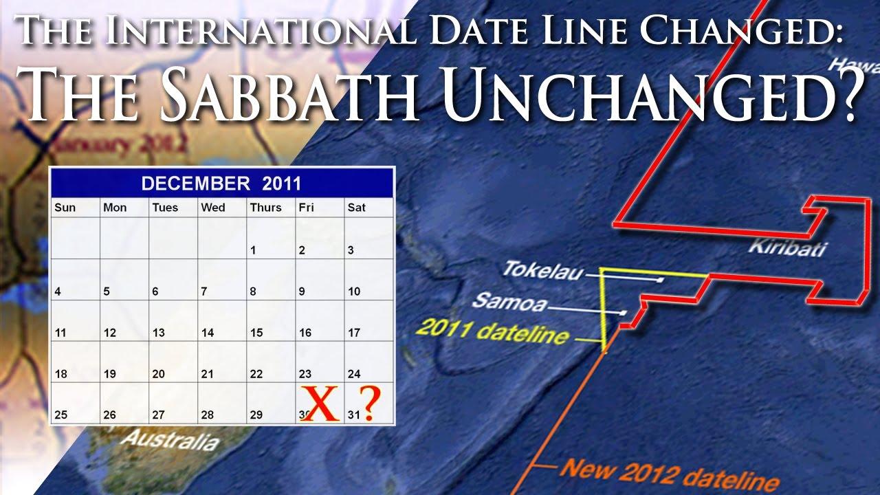 International date line in Perth