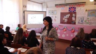 Відкритий урок Англійська