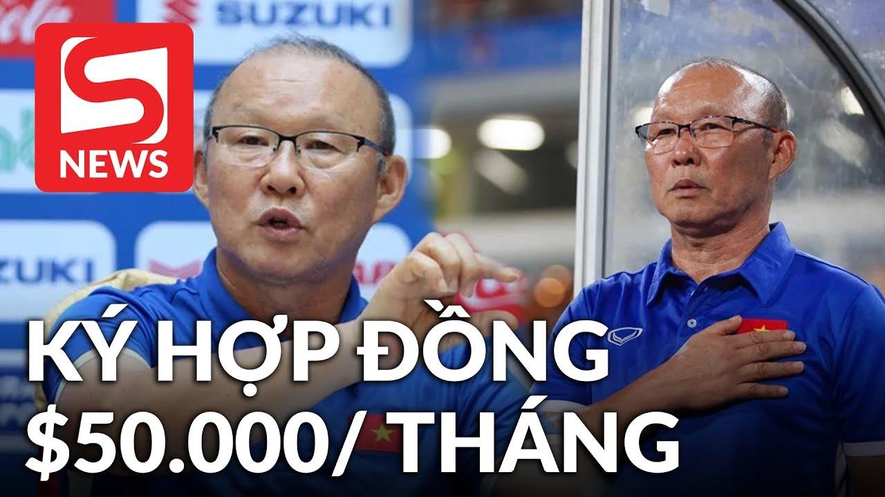 Báo Hàn tiết lộ: 'HLV Park Hang Seo nhận lương $50.000 sau khi ký hợp đồng mới