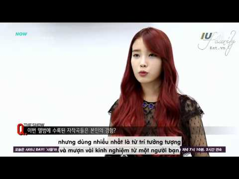 [Vietsub] IU - Interview The Red Shoes @ SBS MTV The Show (29.10.13)