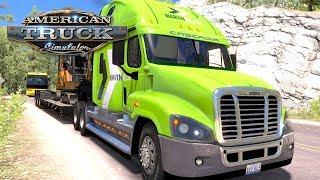 American Truck Simulator (Hard Economy) #41 - DRIVING FOR MARVIN KELLER | Saturday Week 7